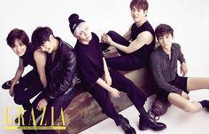 SHINee - Grazia Magazine August Issue '15