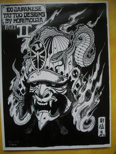 Badass Design by Horimouja! www.thehannyamask.com