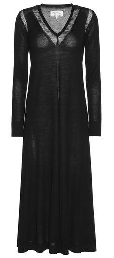 black wool dress <3