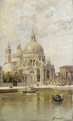 "Antonietta Brandeis, ""Santa Maria della Salute""."