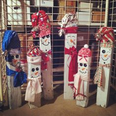 Snowmen craft!!! A must do!!!