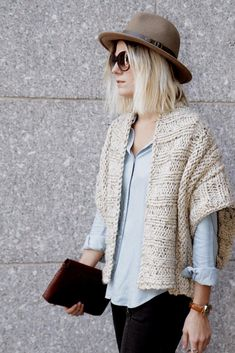 Mont Blanc Cardigan Knitting pattern by Two of Wands