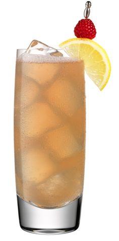 Grand Marnier Raspberry Peach Collins, a tasty cocktail for fall ...