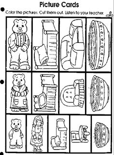 Beary Bears: Art Creative Curriculum, Preschool Curriculum, Preschool Classroom, Literacy Activities, In Kindergarten, Bears Preschool, Bear Crafts, Monkey Crafts, Fairy Tales Unit