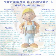 If you are free and completed your studies but finding no way heading to your career then apprenticeships and traineeships program is the best way to give your career a kick start. If you want to conjugate in construction trade or you can say it as classic trade then you are on the right track of your life.