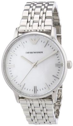 Emporio Armani Women's Quartz Watch AR1602 with Metal Strap  Discount from Β£295 To Β£199