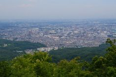 The view from Mount Takao