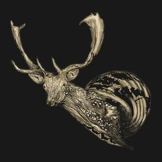 Check out this awesome 'deer+slug' design on TeePublic! http://bit.ly/1hrK8gh