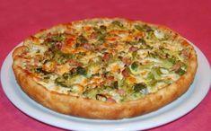 Tarte aux brocolis, lardons et emmental WW, recette d'une savoureuse tarte salé, facile et simple à réaliser pour un repas complet et léger du soir accompagné d'une salade.