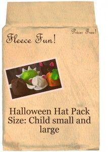 halloween hat pack child