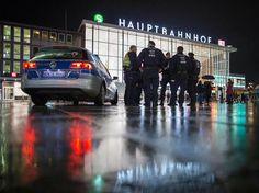 Nach den Silvester-Übergriffen: Verstärkte Polizeipräsenz am Kölner Hauptbahnhof.