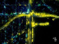 Night Shot, Aerial Photography, Costa, Northern Lights, Instagram Posts, Nature, Travel, Naturaleza, Viajes