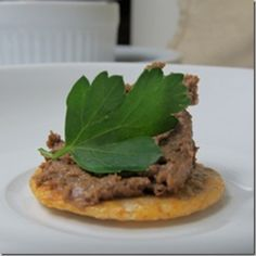 Beef liver pate. Bou