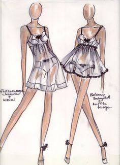 Embrasse-Moi: Fashion Design Sketches!
