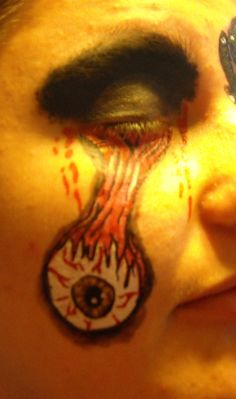 Eye Ball Issues  Linda Schrenk/Amazing Face Painting by Linda, Jacksonville FL