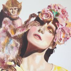 Velvet by Anna Borowy June 12th - 17th at booth G05 janinebeangallery Scope Art Show Basel