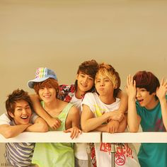 SHINee <3 My babies back when they were still babies