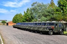 Agrale Marruá AM10 - 18 unidades para o Exército do Equador