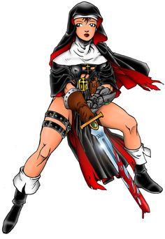 Areala Warrior Nun by Dogsupreme.deviantart.com on @DeviantArt
