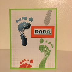 Dada! Pitter patter of little feet coming soon! #handmade #entrepreneur #etsy #babyshower #baby #itsaboy #itsagirl #unisex #dada #mama #binky #hellocutie #onesie #footprint #proudpapa #firstfathersday #twins #cute #playful #pins #newmommy #instagood #instababy #instashower ❤️#invites