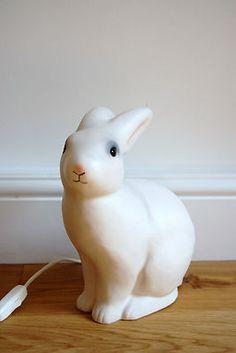 Heico Egmont Rabbit Lamp, Plug In Bunny Light