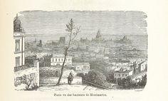 Image taken from page 209 of 'Paris-Neuf, ou Rêve et Réalité. Grande fantasmagorie, etc. [In verse.]' | by The British Library British Library, Types Of Resources, Page Number, Paris, Montmartre Paris, Paris France