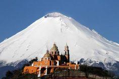 EL Popocatepetl Puebla Mexico. I have not been here yet but it is on my bucket list