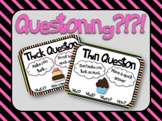 Questioning: Thin and Thick Questions