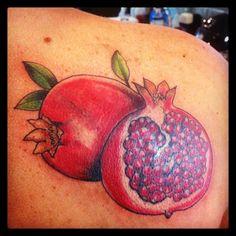 Pomegranate Tattoo by Michelle Tarantelli