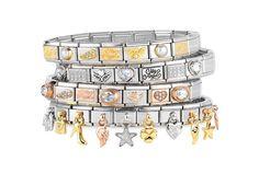 Angel Italian Charms for your charm bracelets Nomination Bracelet, Nomination Charms, Hand Accessories, Charm Bracelets, Hand Henna, Costume Jewelry, Pandora, Women Jewelry, Bling