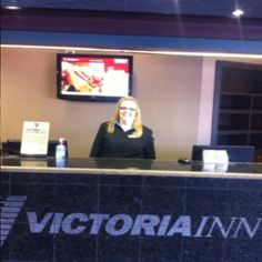 Say hello to Nicole, our Guest Services Supervisor, looking very happy and ready to welcome our guests to the hotel!