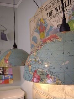 Great lampshade idea!