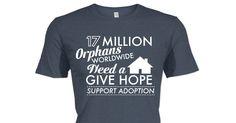 Check out this awesome Gray Adoption shirt!  #adoption #redthread #internationaladoption