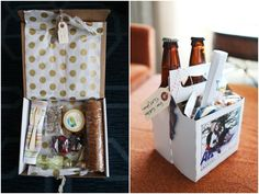 Wedding Welcome Gifts or out-of-town goodies for your house guests. :-) Home brew too!