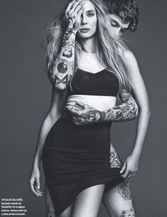 Vanesa Lorenzo + Stephen James by Nico - Moda En La Piel