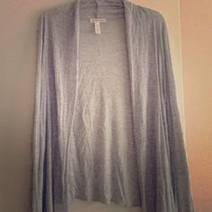 Lightweight Cardigan NWOT! Very lightweight and flowy cardigan. Has pockets on the side, and it's perfect for nights that are just a little too chilly to wear a heavy sweater. Goes perfect with dresses or casual wear :) Fits a M-L. Sweaters Cardigans