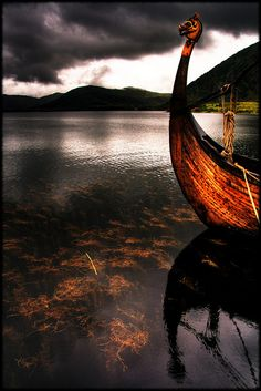 Vikings employed wooden longships with wide, shallow-draft hulls, allowing navigation in rough seas or in shallow river waters.
