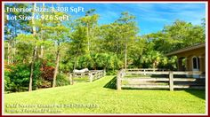 Horse Farm in Loxahatchee FL For Sale - 1154 Clydesdale Dr Loxahatchee FL 33470 #FoxTrailLoxahatcheeFLHomesForSale #LoxahatcheeHomeWithLandForSale
