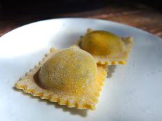 Handmade ravioli at olive and june.
