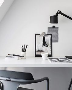 Minimalistic workplace by @pellahedeby from our latest work for @lencaproperties
