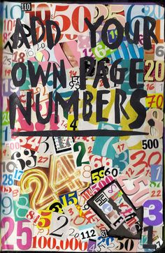 add your own numbers wreck this journal - Google Search