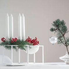 Weihnachten & Advent mit by Lassen bowl & dem by Lassen Kubus  #by lassen #by lassen bowl #by lassen kubus #Glasvase #Ilex #Weihnachten #Advent #boconcept #DSW #Eames #Vitra #bylassen #DSW #bylassen #bylassenbo #bylassenkubus