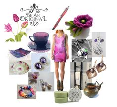 """Be an Original"" by inspiredbyten ❤ liked on Polyvore featuring vintage"