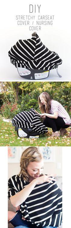 do it yourself divas: DIY Stretchy Car Seat Cover