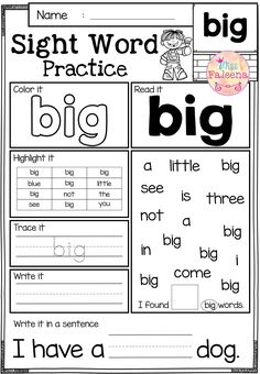 Nice Kindergarten Practice Worksheets Sight Words that you must know, Youre in good company if you?re looking for Kindergarten Practice Worksheets Sight Words Sight Word Worksheets, Reading Worksheets, Kindergarten Worksheets, Free Worksheets, Printable Worksheets, Blends Worksheets, Coloring Worksheets, Phonics Worksheets, Printables