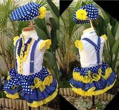 Festi peques Fashion Games, Baby Dress, Girl Outfits, Fashion Dresses, African, Traditional, Sewing, Children, Womens Fashion