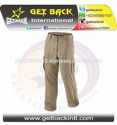 Custom Cargo Pants 6 pockets / High Quality Cargo Pants Custom Colors Fashion Khaki slim fit