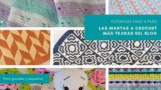 Hemos reunido en un solo post las mantas a crochet preferidas por las tejedoras que nos visitan. Verás aquí modelos tanto para grandes como para pequ