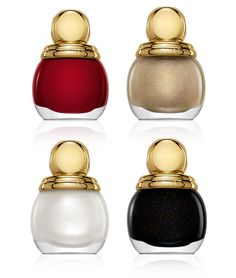 Diorific by Dior. I love these little pots of nail polish and these colors are so chic