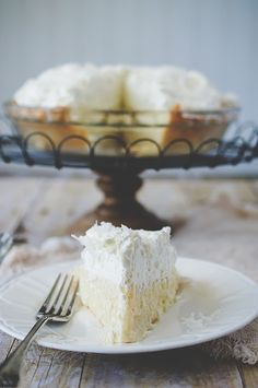 Lorie's Ultimate Coconut Cream Pie. This recipe was a winner in the pie category in the Perfect Three contest sponsored by The Cooking Channel.